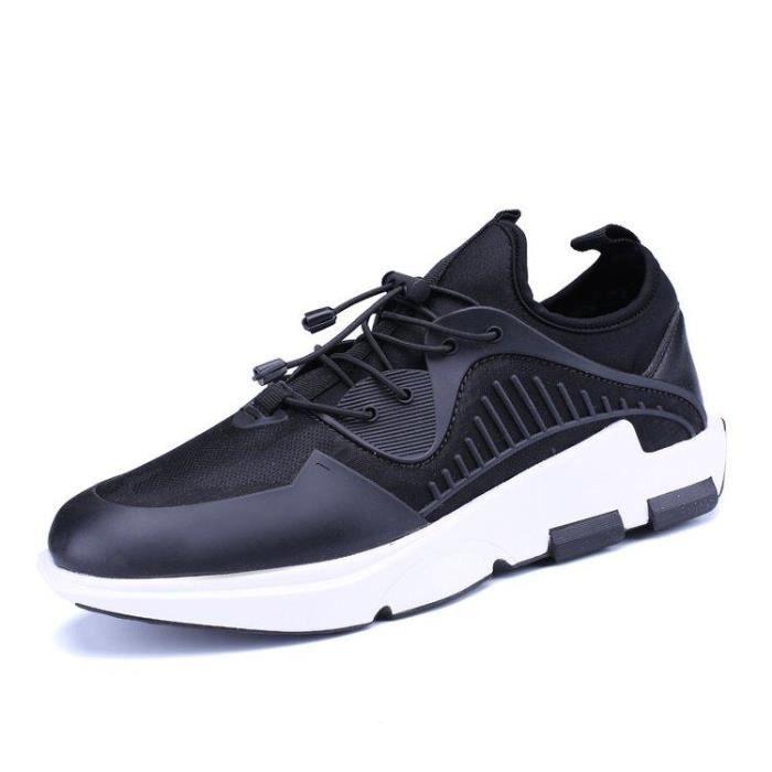 Chaussure De Ville Loisir Classique Doux Mode Compensé Slip-On Casual Homme Noir 39 R96167100_K09