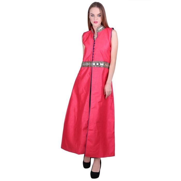 Womens Red Gown L1RY0 Taille-42