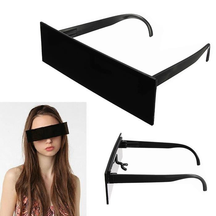 Barre Homme Sunglasses Cadeau Piece Unisex Une Soleil ABS Lunettes Femme Pour gWdvqdBRc