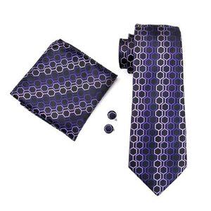 ... CRAVATE - NŒUD PAPILLON Hi Tie Cravate en soie à carreaux mauve pour  homme ... cefc74f79a6c