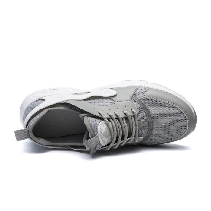 Basket Homme Marque De Luxe Meilleure Qualité Plus Taille Baskets Homme Confortable Chaussures de sport Nouvelle arrivee 2017 lfEqAb
