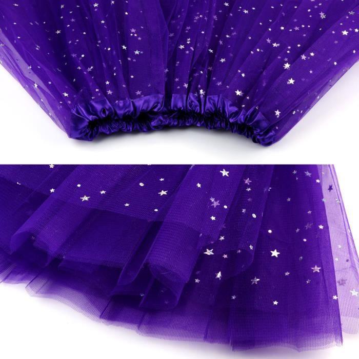Danse Femmes Courte Plissée Purple Gaze Adulte Dark Tutu Jupe vqFwH