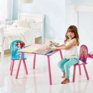table et chaise princesse achat vente table et chaise princesse pas cher cdiscount. Black Bedroom Furniture Sets. Home Design Ideas