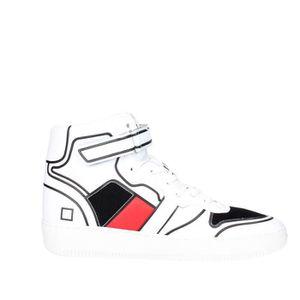 D.a.t.e. Sneakers Homme Noir/Blanc, 42