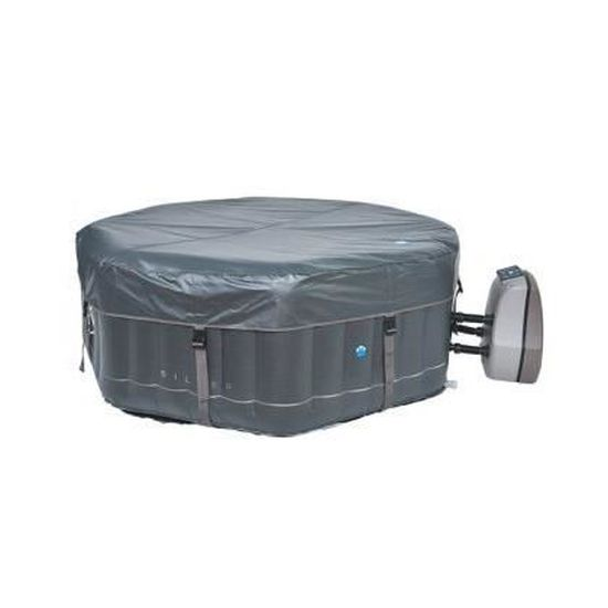 Spa gonflable octogonal Silver - Netspa - 5 6 personnes - 1.95m x 1.95m x  70cm - Achat   Vente spa complet - kit spa Spa gonflable Silver Netspa -  Cdiscount fc6554aae532