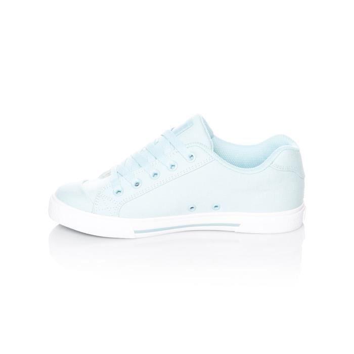 Chaussures Femme DC Chelsea TX Light Bleu 3EVin