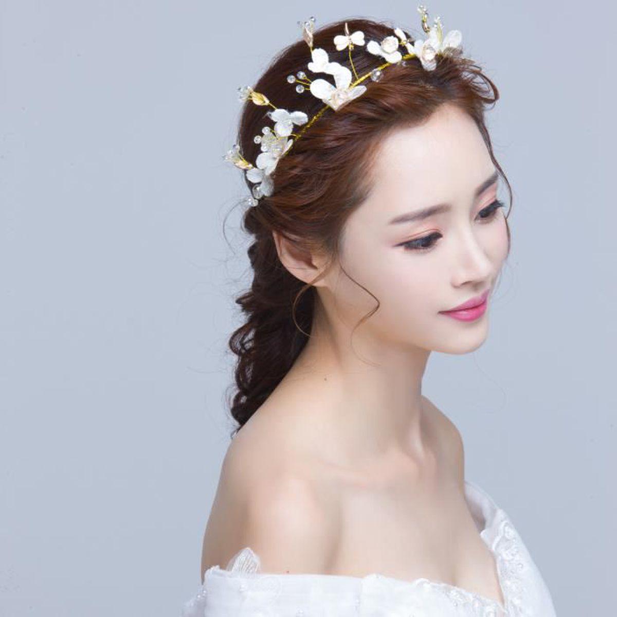 serre t te pour mariage costume chinoise robes de spectacle accessoires cheveux fleur. Black Bedroom Furniture Sets. Home Design Ideas