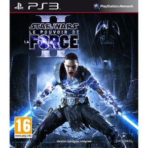 JEU PS3 STAR WARS LE POUVOIR DE LA FORCE 2 / PS3