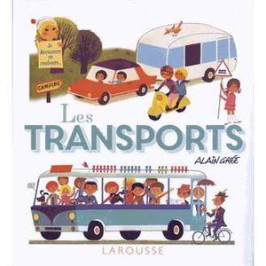 Livre 6-9 ANS Les transports