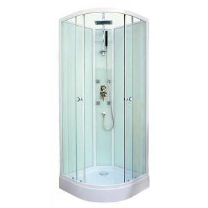 Cabine de douche hydromassante Astro 1/4c 80cm