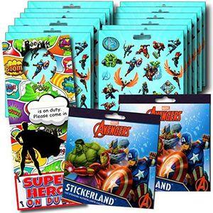 STICKERS Marvel Avengers Party Autocollants Favors paquet d