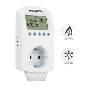 THERMOSTAT D'AMBIANCE Welquic Thermostat d'Ambiance Chauffage Refroidiss