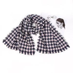 ECHARPE - FOULARD Femmes Plaid écharpe d impression de mode rétro fe ... 4b540915f49