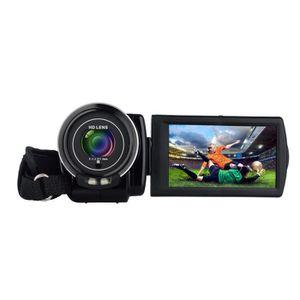 CAMÉSCOPE NUMÉRIQUE HD 1080P caméscope avec zoom numérique, 3,0 pouces