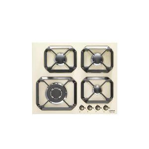 PLAQUE GAZ LOFRA HRBI6G0-GA ivoire table de cuisson  valved 6