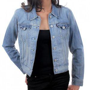Jeans En Achat Vente Veste Levis Femme Bleu ZzqxBw8