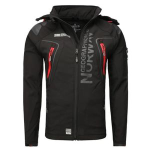 SOFTSHELL DE SPORT Softshell Homme Geographical Norway Taco Noir