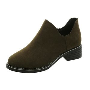BOTTINE HEE GRAND Boots Femmes Plate pour Printmeps-Automn