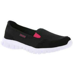 BALLERINE Chaussures Femme Kappa Slipper Noir