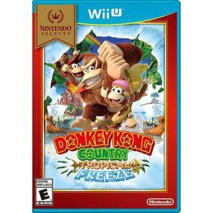 JEU WII U Donkey Kong Country Tropical Freeze (Wii U Selects