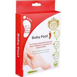 SOIN MAINS ET PIEDS BABY FOOT Masque-chaussettes exfoliant - Capacité