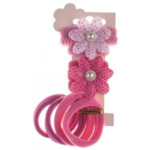 BARRETTE - CHOUCHOU Set Accessoires Cheveux Enfant Rose 1062a867c8d
