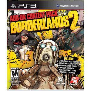 JEU PS3 BORDERLANDS 2 ADDON PACK PS3 MIX