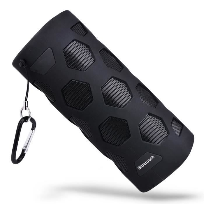 Extérieur Sans Fil Haut-parleur Portable Nfc Mobile Power Trois Anti Président @5276