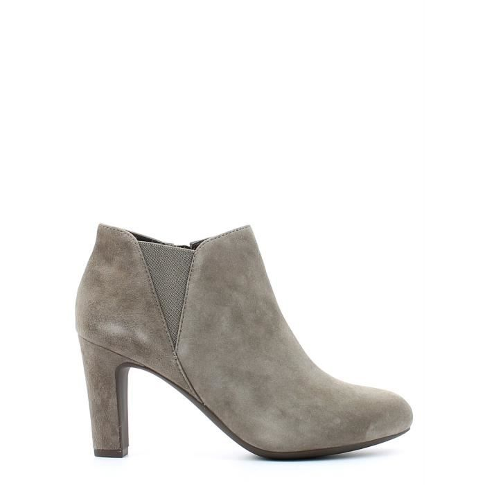 Geox Boots à talons Femmes Taupe