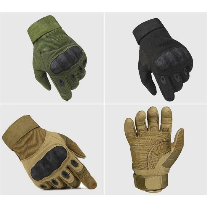 new style check out shoes for cheap Outdoor tactique Armure Fibre Camping Gants Finger complet