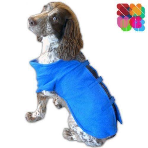 manteau pour petit chien bleu - achat / vente manteau pour petit