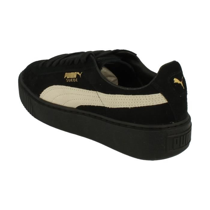 Puma Suede Platform Fl Femme Trainers 364718 Sneakers Chaussures ImLIrX4Sp