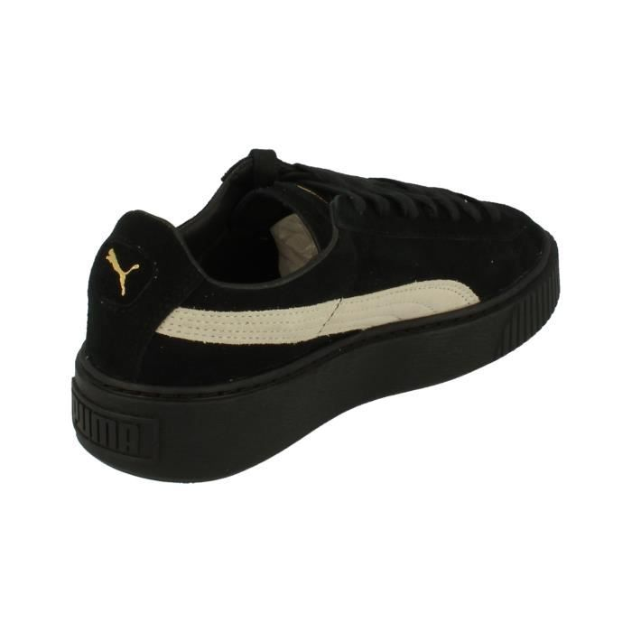 Puma Suede Platform Fl Femme Trainers 364718 Sneakers Chaussures