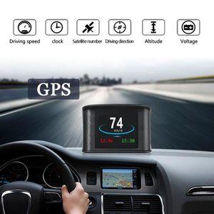 AFFICHAGE PARE-BRISE GPS HUD Affichage Tete Haute