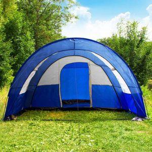 TENTE DE CAMPING  Tente de Camping XXL 4 - 6 Personnes 17m2 480x350