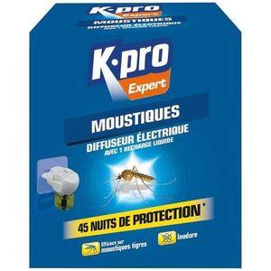RÉPULSIF NUISIBLES MAISON Moustiques émanateur électrique Kapo Expert - Diff