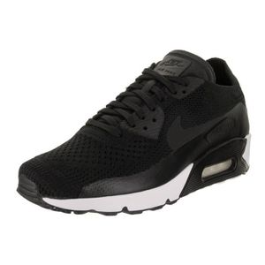magasin d'usine 2bc5c 6749b Nike Air Max 90 Ultra 2.0 Flyknit F4YGK Taille-45 Noir Noir ...