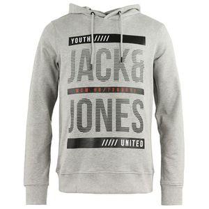 SWEATSHIRT JACK AND JONES Line Sweat Capuche Homme - Taille S acedfda17975