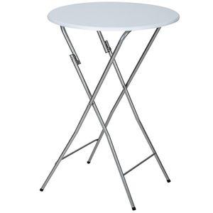 Table haute mange debout 110x110 cm - Achat / Vente pas cher -