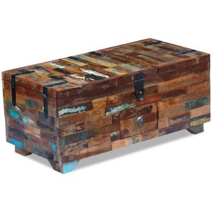Table basse coffre achat vente table basse coffre pas for Table basse recuperation