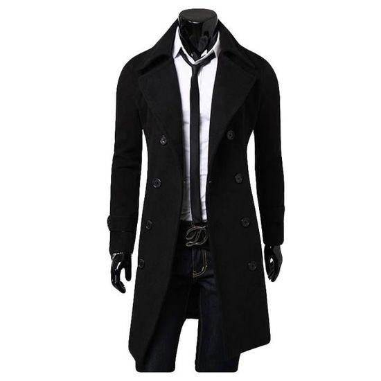 d47ebdaab75b7 Uni Parka Vêtements Marque Luxe Homme Masculin En Britannique Vêtement La  Revers Style Mode A xqr6qB0WwU