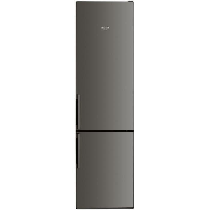 HOTPOINT - H9A2ESBH- Réfrigérateur combiné - 368L (257L + 111L) - Froid brassé - A++ - L59,5cm x H20