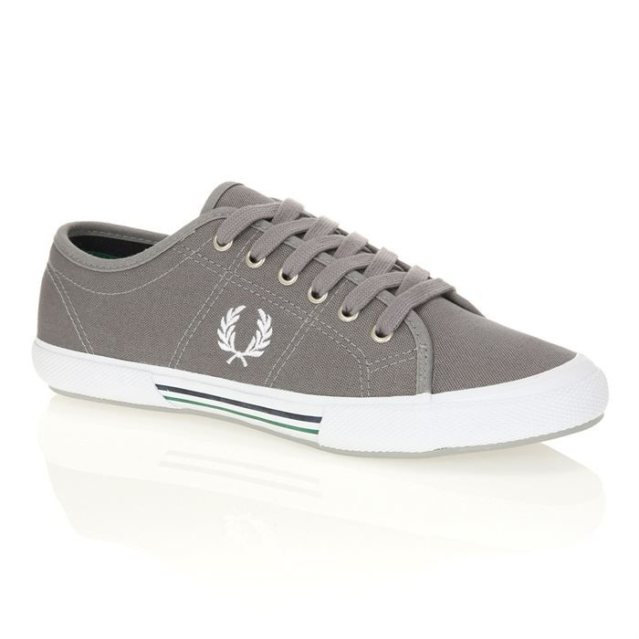 Fred Perry B1 Sports Authentic Tennis Hommes Baskets Off White Navy - 10 UK QnRXOH9d