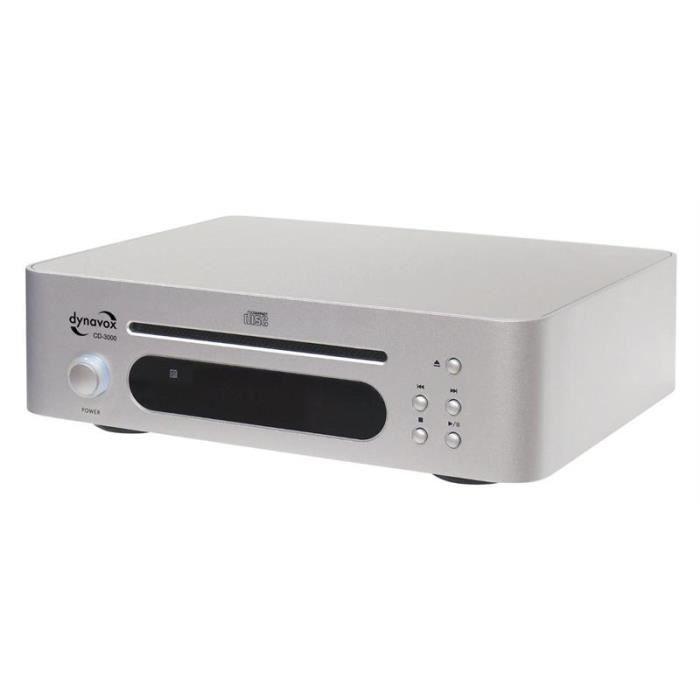 dynavox cd 3000 lecteur cd aux platine cd avis et prix pas cher cdiscount. Black Bedroom Furniture Sets. Home Design Ideas