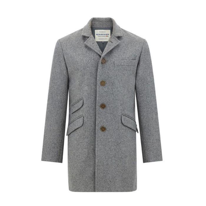 d86d73c67c Manteau en Laine impermeable Made in france DALMARD MARINE Taille Homme -  XS, Couleur - gris