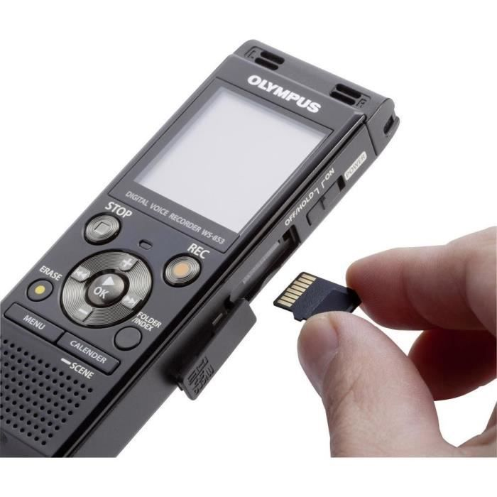 Dictaphone Numérique Olympus Ws 853 Dragon Naturally Speaking 12