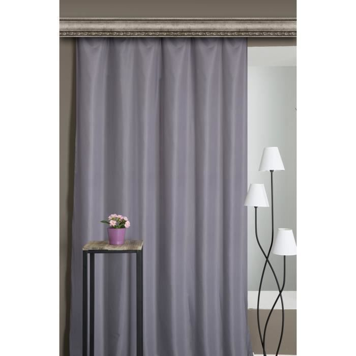 affordable cool rideau rideau thermique anti froid x cm galon f with rideaux occultants galon. Black Bedroom Furniture Sets. Home Design Ideas