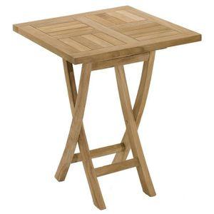 Table de jardin en bois pliante - Achat / Vente Table de jardin en ...