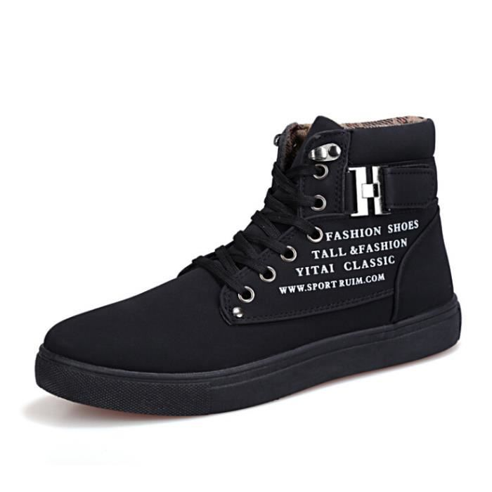 chaussures Shoes Homme montantes Basket Mode Skate Chaussure Homme r6rfwqA