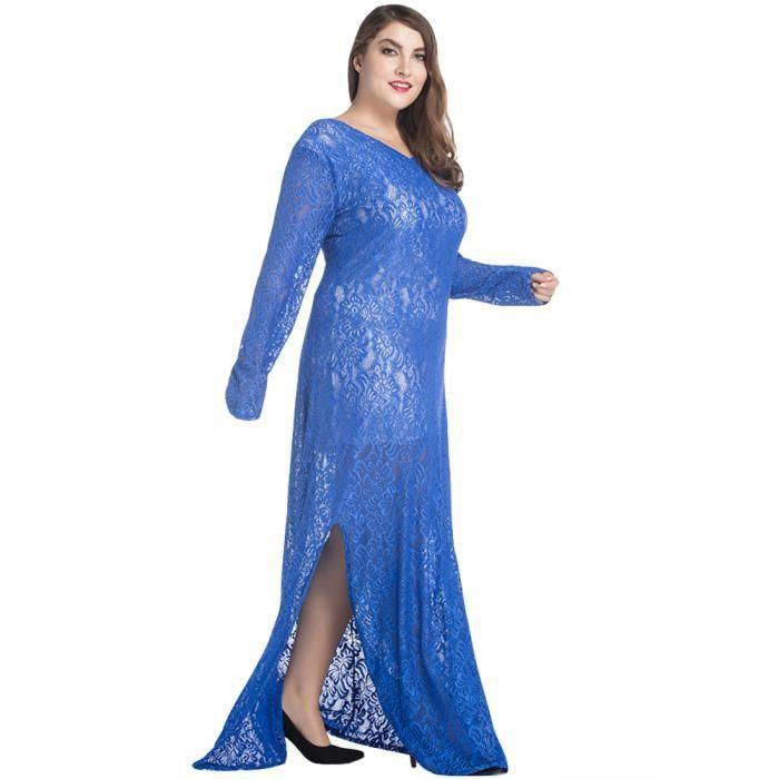 Robe G9450 Bleu Taille XXXL
